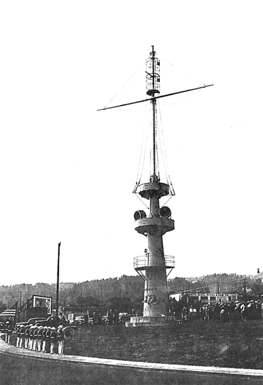 Mast after WWII
