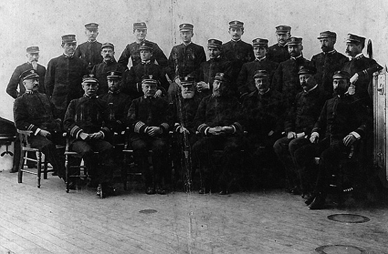 Officers in1898